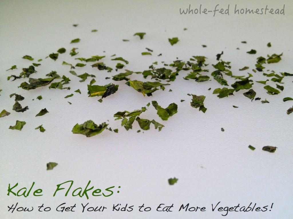 Kale Flakes w Words