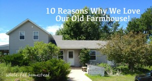 10 Reasons Why We Love Our Old Farmhouse