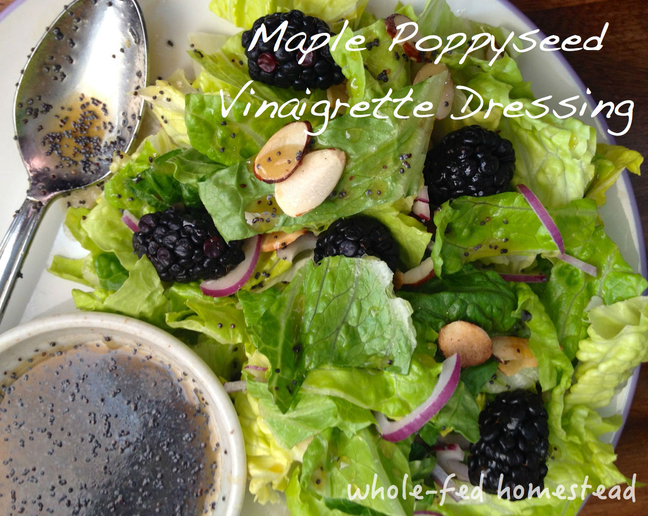 Maple Poppyseed Vinaigrette Dressing