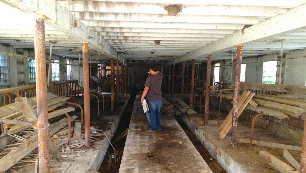 rural barn inside