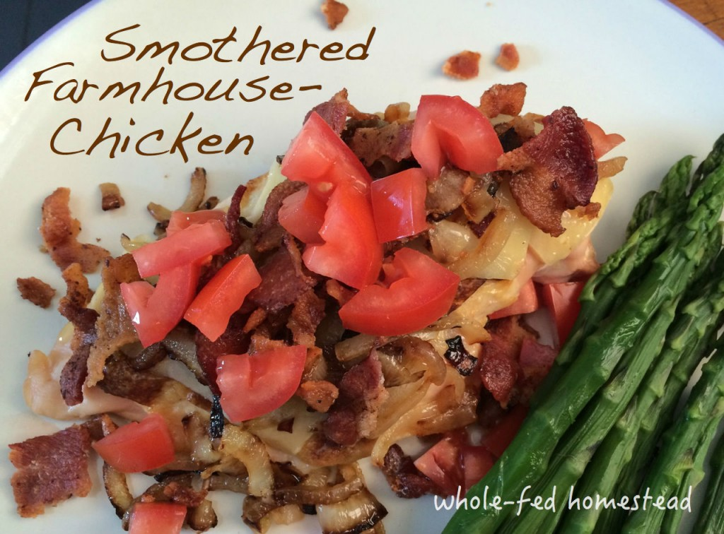 Farm homestead healthy chicken recipe gluten free low carb
