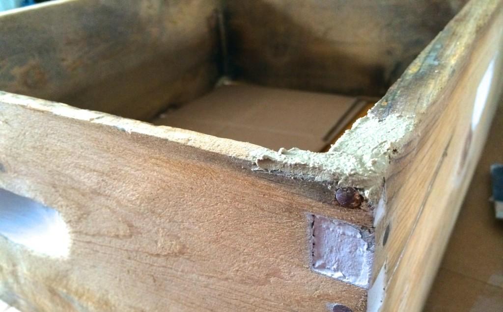 bee hive wood filler