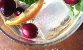Cranberry Orange Mint Flavored Water Whole Fed Homestead