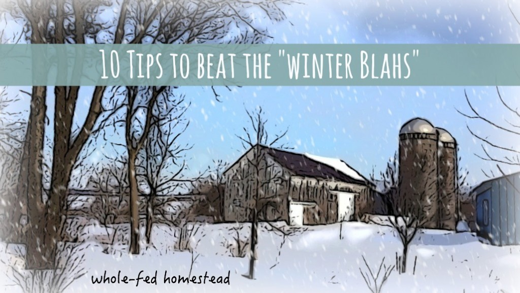 10 Tips to Beat the Winter Blahs