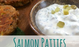 Salmon Patties Dill Pickle Sauce Feature