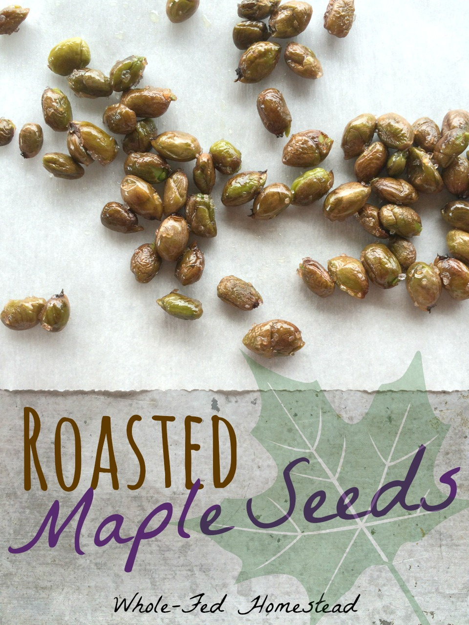 Roasted Maple Seeds