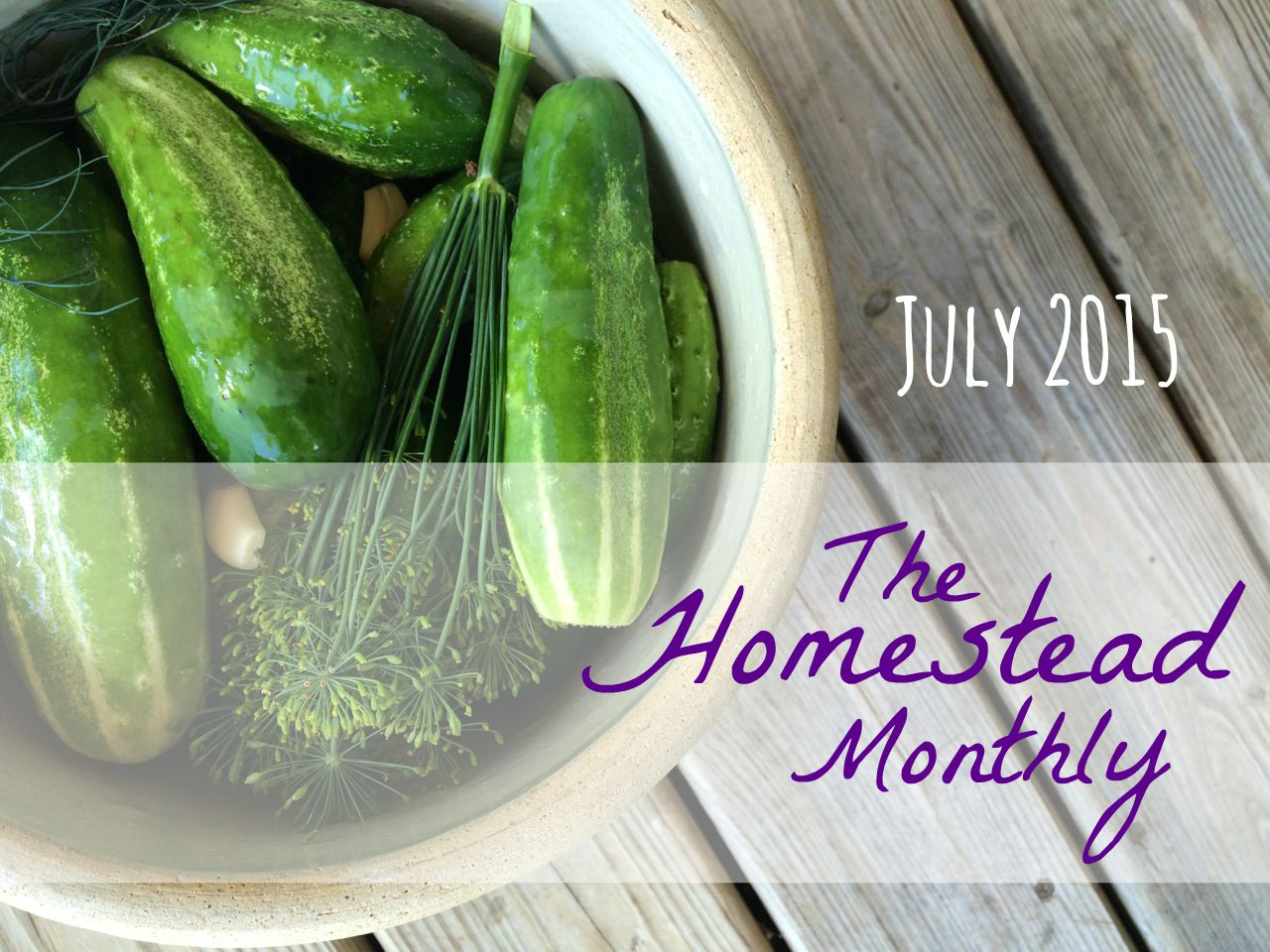 The Homestead Monthly: July 2015
