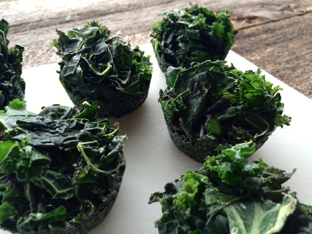 Kale pucks