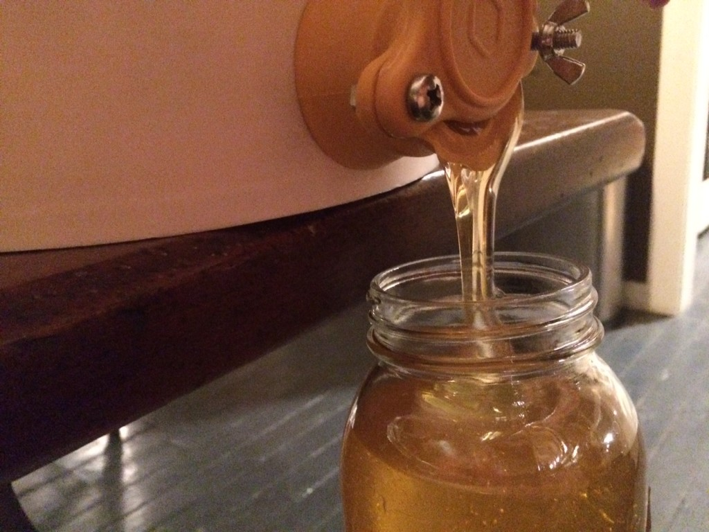 honey harvest; Homestead Monthly: September 2015 | Whole-Fed Homestead