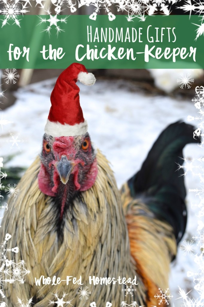 Handmade gifts for the chicken keeper feature