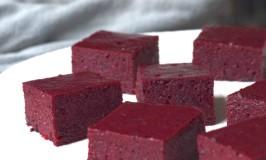 Aronia Gelatin Squares plus How to Grow Aronia