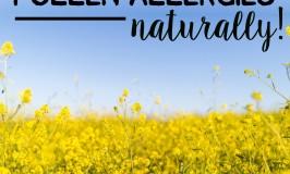 Eliminate season pollen allergies naturally