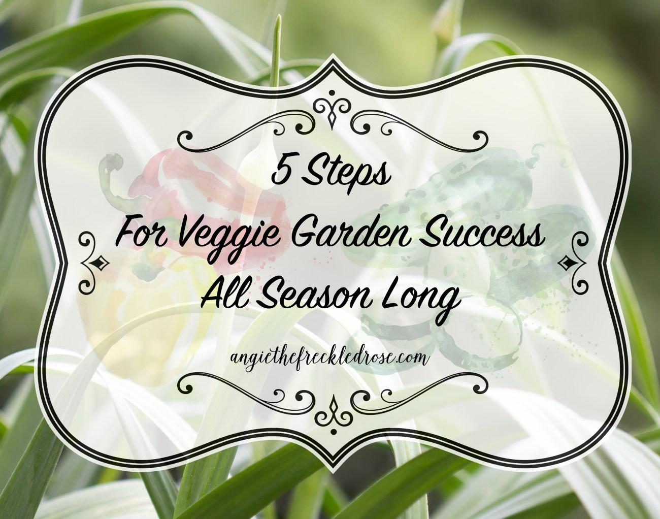 VeggieGardenSuccess