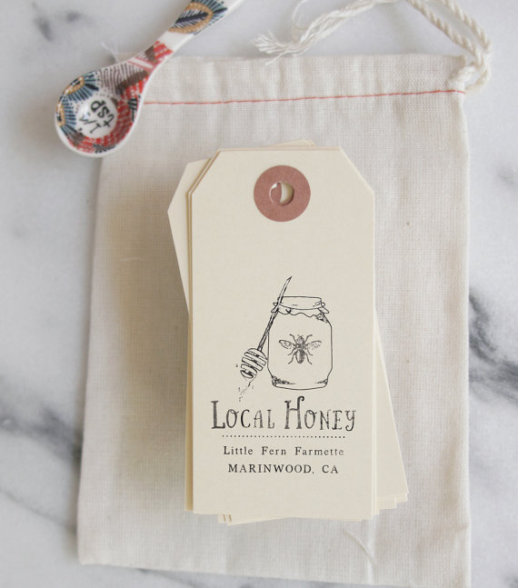 Local Honey stamp