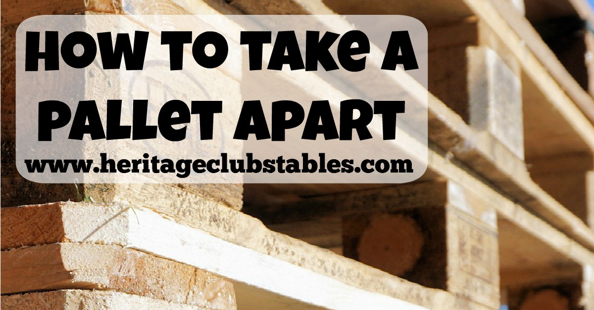 how-to-take-a-pallet-apart..
