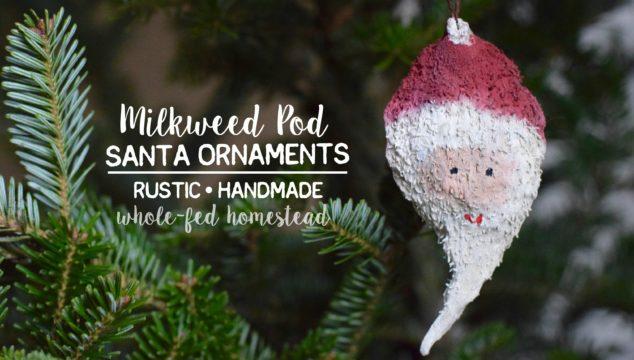milkweed-pod-santa-ornaments-1