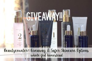 {Giveaway!!) Beautycounter Giveaway and Safer Skincare Options