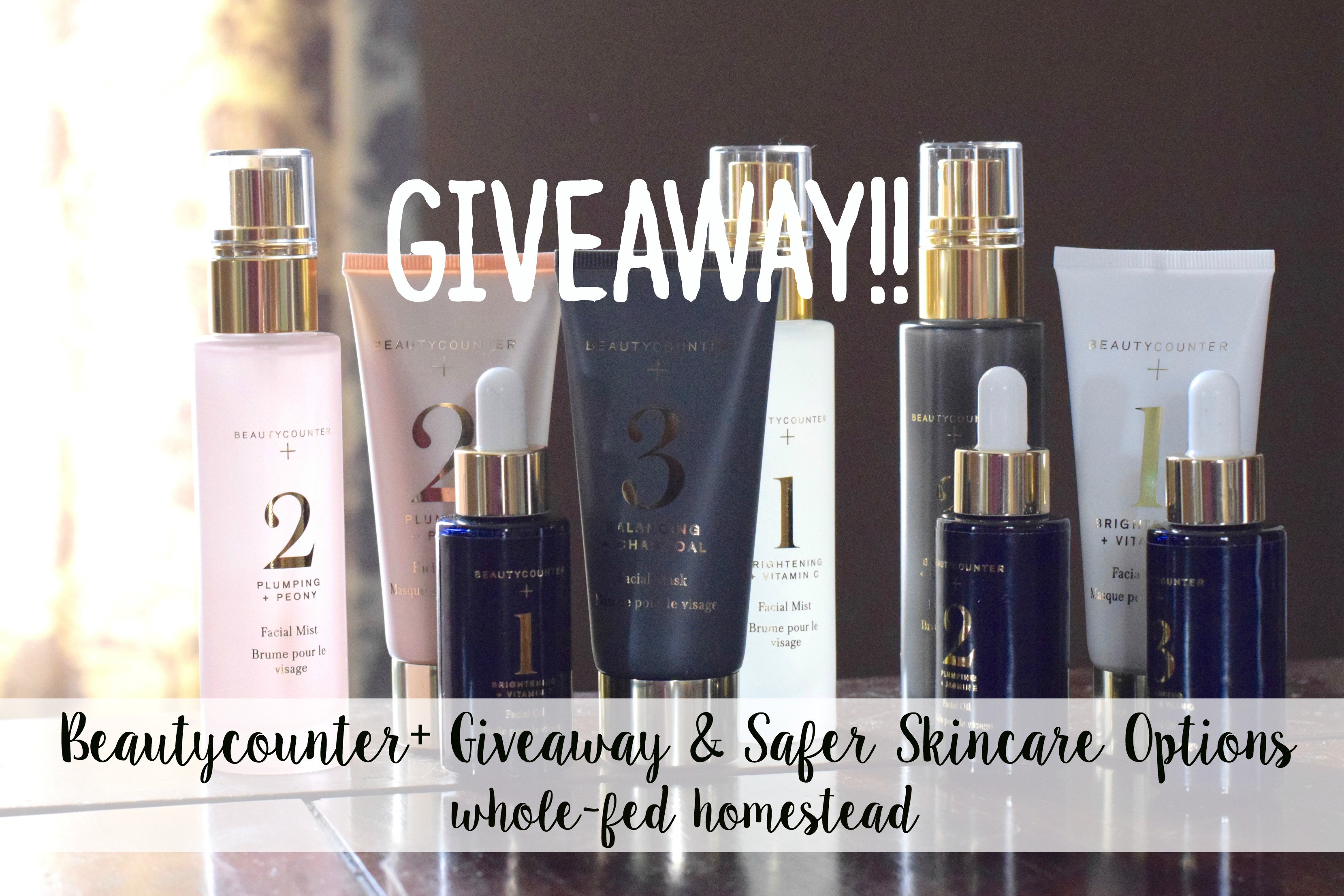 Beautycounter+ Giveaway | Whole-Fed Homestead
