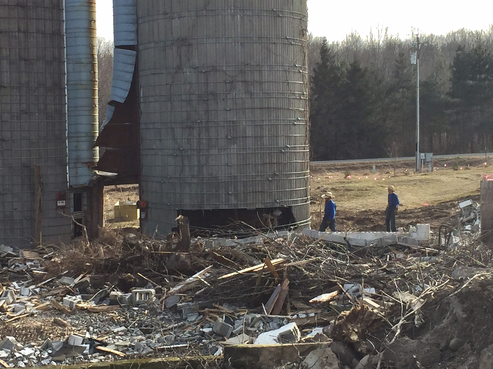 Amish taking down silos, Homestead Monthly: Feb + March {maple syrup, apple pruning, and homestead expansion} | Whole-Fed Homestead