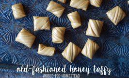 Old-Fashioned Honey Taffy Recipe