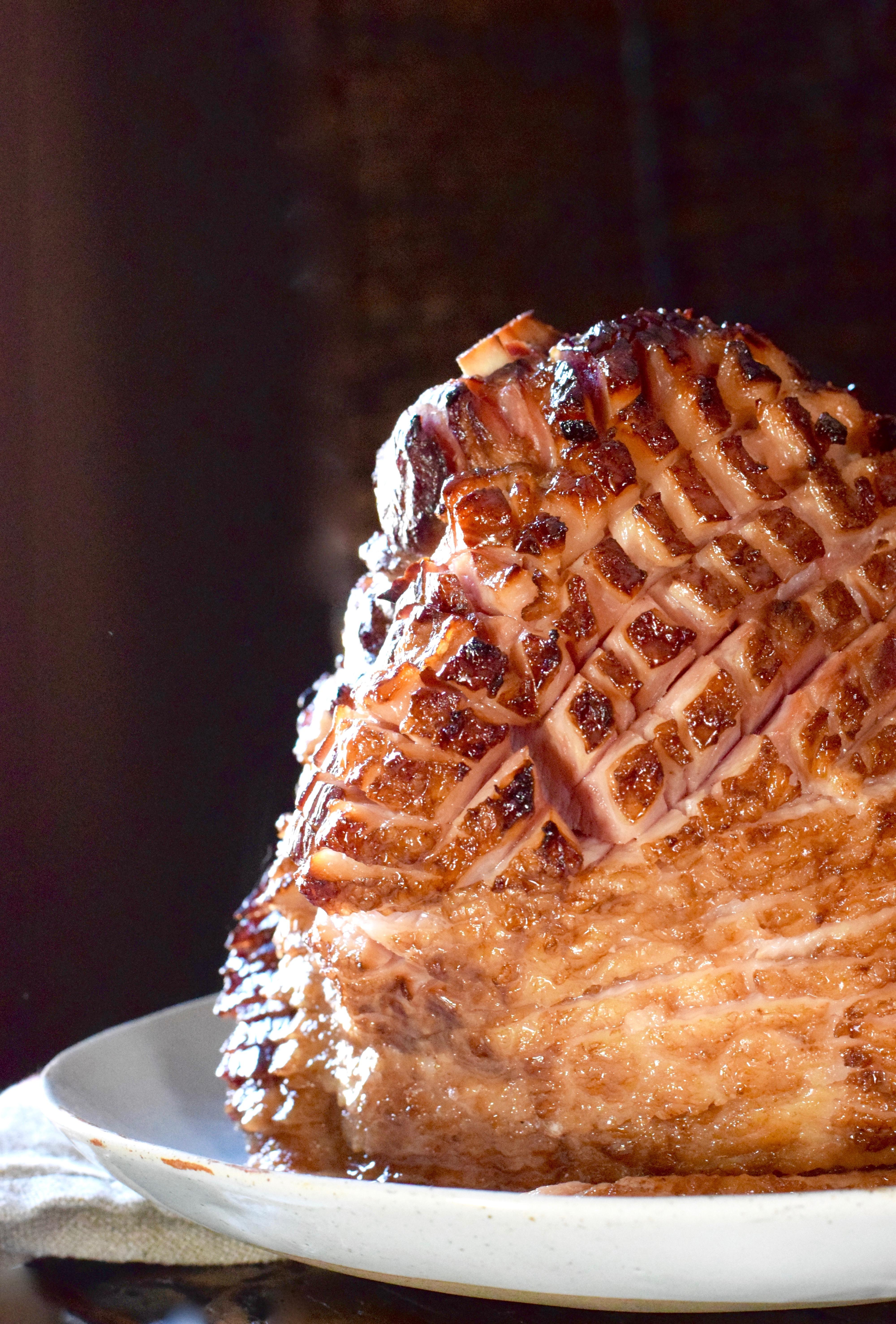 Apple Cider Amp Maple Glazed Ham Recipe Whole Fed Homestead
