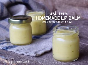 Homemade Honey Lip Balm {As Featured in Mother Earth News Magazine!}