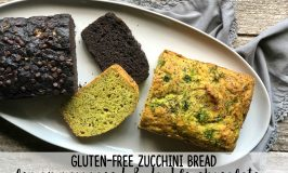 Gluten-Free Zucchini Bread Recipe: Double Chocolate and Lemon Poppyseed!
