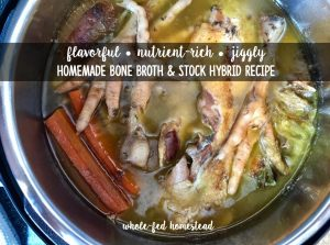 Homemade Bone Broth & Stock Hybrid Recipe